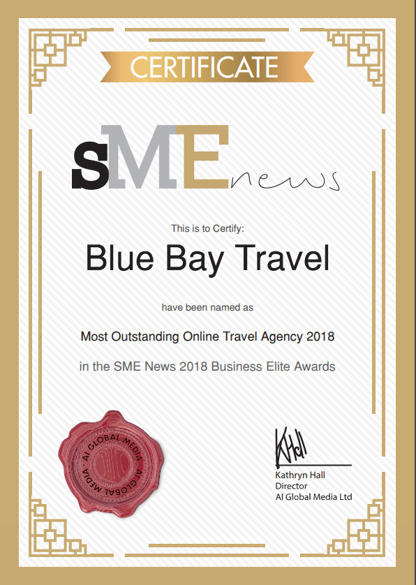 SME News 2018 Business Elite Program Most Outstanding Online Travel Agency