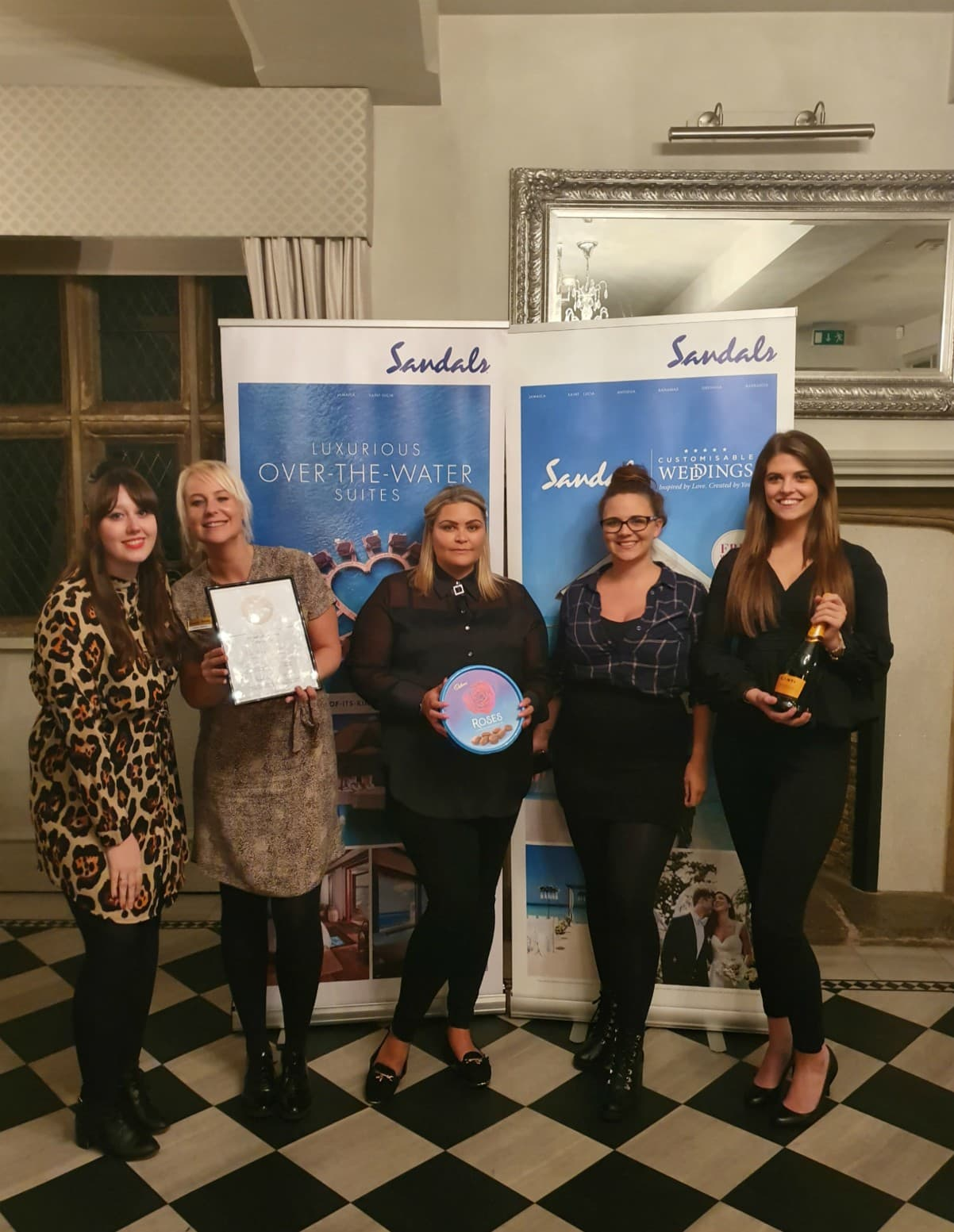 Sandals Outstanding Achievement Award 2019