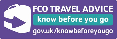 Know before you go. FCO travel advice.